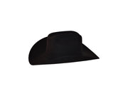 10X Larry Mahan Jerarca Fur Felt Hat Black