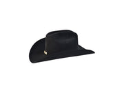20X Larry Mahan Jerarca Fur Felt Hat Black
