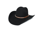 Single Roll Diamond Stud Western Hat Band