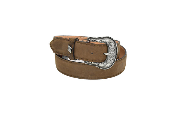 Mens Texas Country Western Leather Belt Chocolate 1901