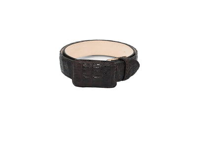 Mens Texas Country Exotic Caiman Belt