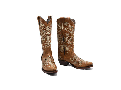 Texas Country Womens Western Boot Cater Tabaco