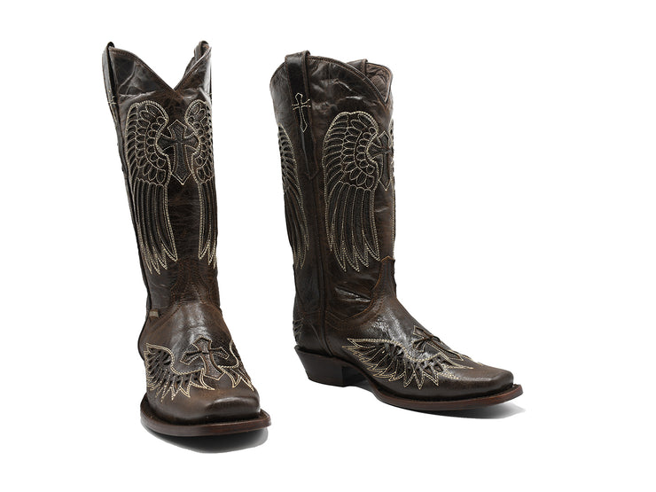 "Texas Country Womens Western Boot ""Alexa Choco"""