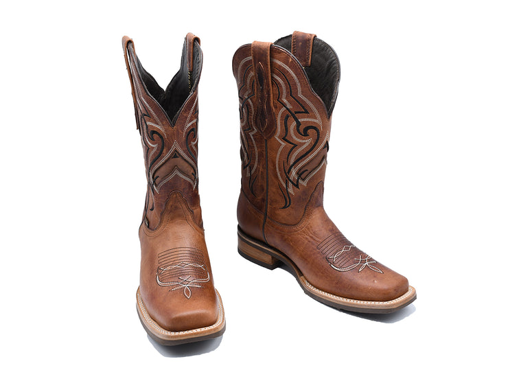 Texas Country Leather Western Boot