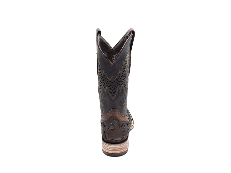 Texas Country Leather Western Boot E 612