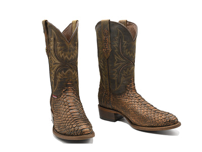 Texas Country Western Boot Python