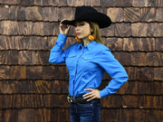 Rodeo Carte Womens Long Sleeve Western Shirt