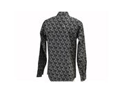 Rodeo Carte White & Black Mens Long Sleeve Western Shirt