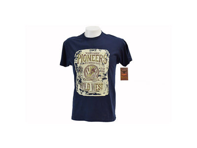 Rodeo Carte Dark Blue Western Pioneers T-Shirt