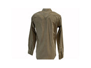 Rodeo Carte Kaki Mens Long Sleeve Western Shirt