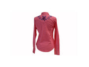 Rodeo Carte Rose Womens Long Sleeve Western Shirt