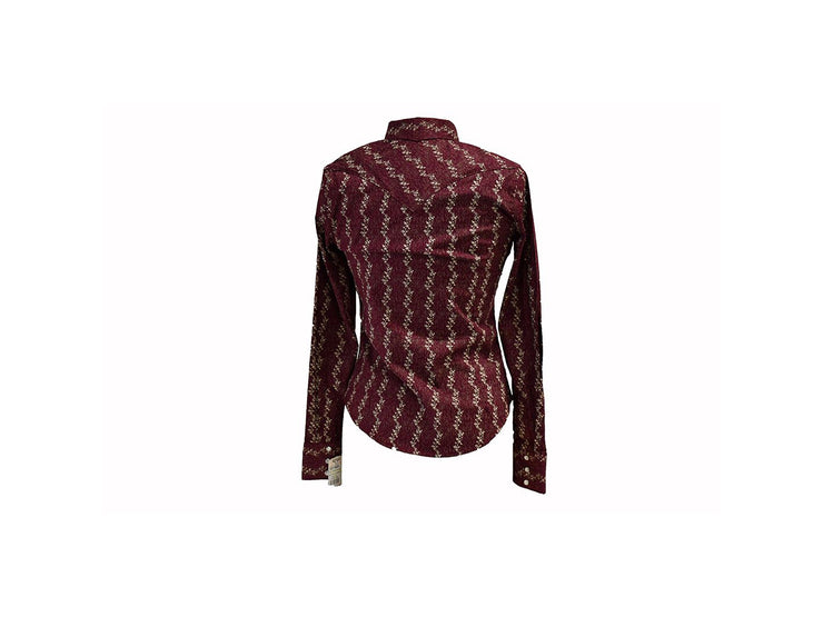 Rodeo Carte Vino Womens Long Sleeve Western Shirt