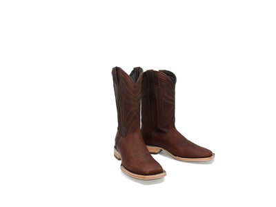 Classic Square Toe Boot Frida Cognac