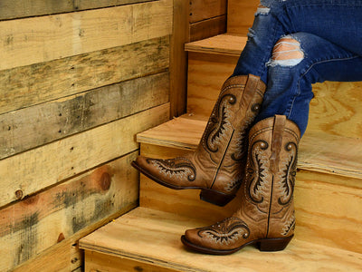 Texas Country Womens Western Boot