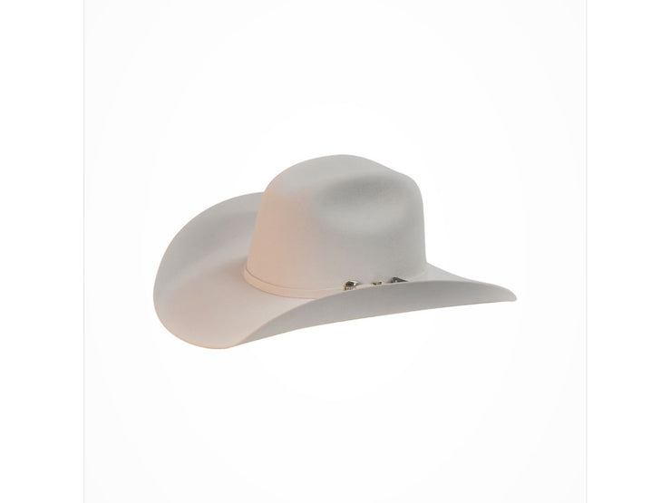 "Exclusive "" Austin "" Texas Country Western Felt Cowboy Hat White"