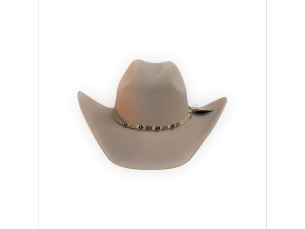 "Exclusive "" Austin "" Texas Country Western Felt Cowboy Hat Tan"