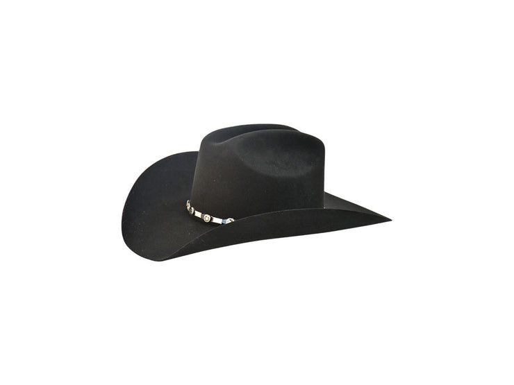 "Exclusive "" Country"" Texas Country Western Felt Cowboy Hat Black"