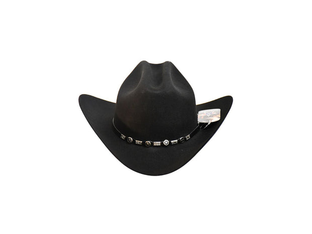 "Exclusive "" Sinaloa "" Texas Country Western Felt Cowboy Hat"