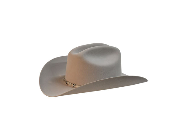 "Exclusive ""Sinaloa"" Texas Country Western Felt Cowboy Hat Platinum"