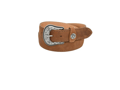 Mens Texas Country Western Leather Belt Tex