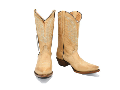 Veretta Womens Leather Western Boot Liga Orix