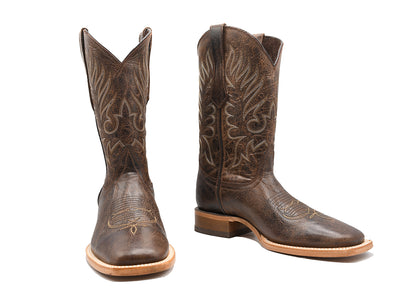 Veretta Leather Western Boot Roca