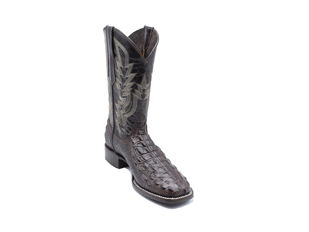 Veretta Leather Western Boot Lomo Choco