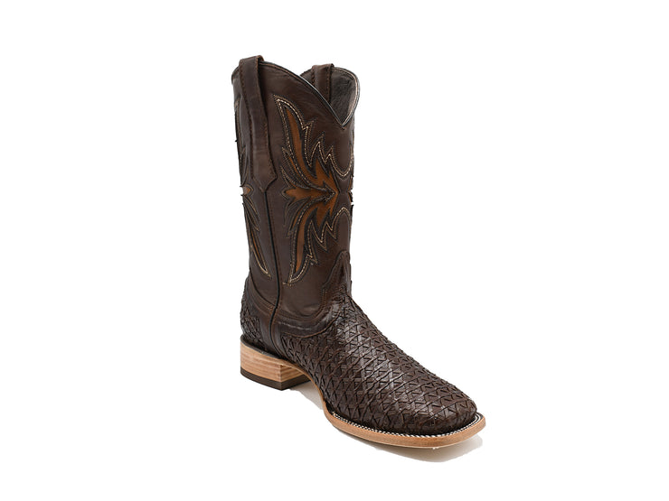 Veretta Leather Western Boot Mestizo