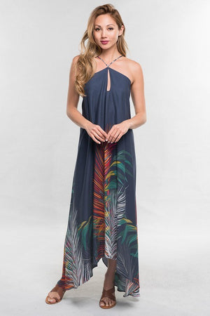 Scarf Tie-Back Dress - Hippie Vibe Tribe