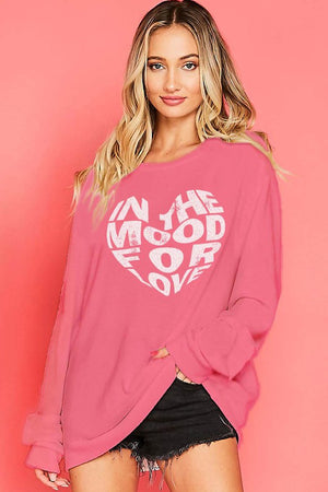 """In The Mood For Love"" Sweatshirt - Hippie Vibe Tribe"