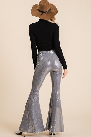 Sequence Silver Hippie Pants - Hippie Vibe Tribe