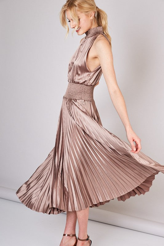 Champagne Holiday Party Dress - Hippie Vibe Tribe