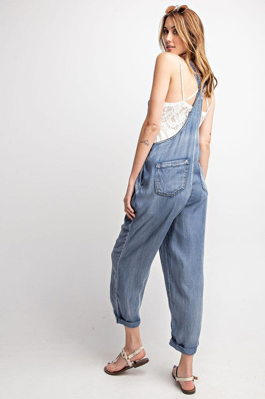Soft Denim Jumpsuit - Hippie Vibe Tribe