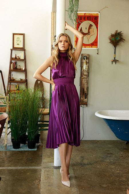 Berry Holiday Party Dress - Hippie Vibe Tribe