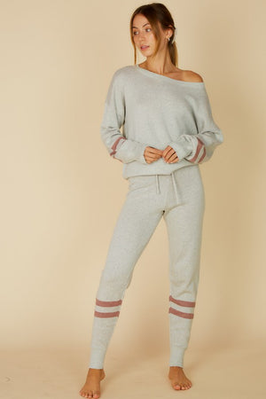 Cozy Taupe and Grey Jogger Sets