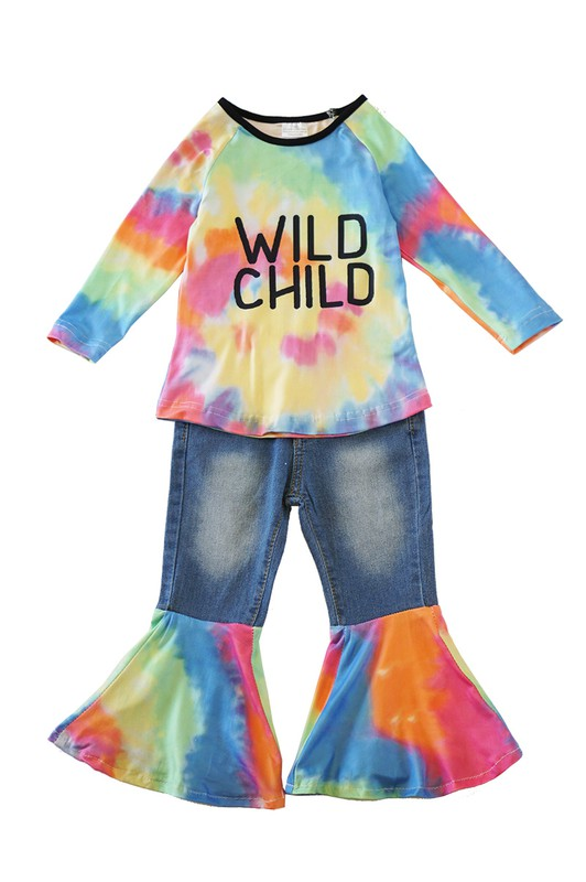 """WILD CHILD"" Kids Fashion Set"