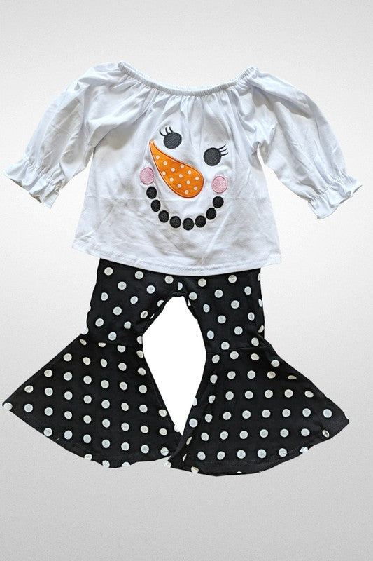 """Frosty the Snowman "" Christmas Outfit"