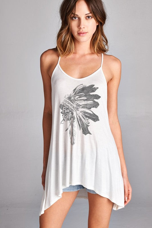 Native American Tank - Hippie Vibe Tribe