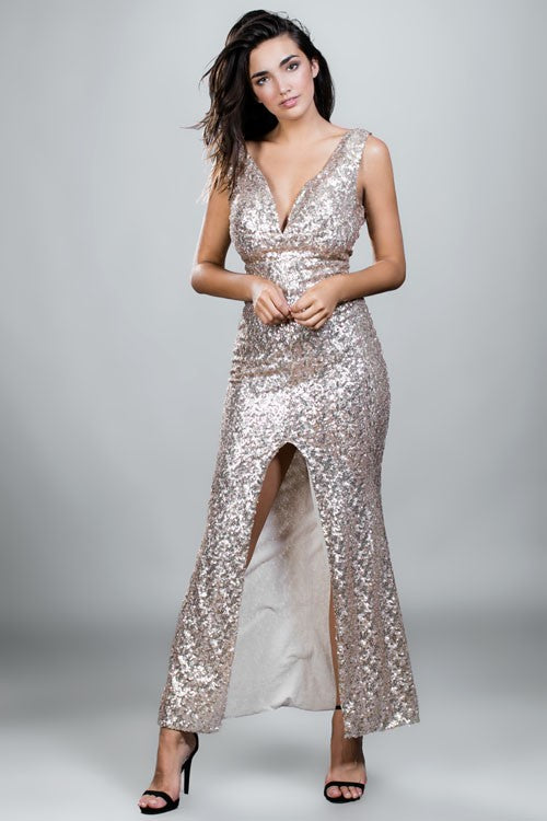 Elegant Shimmery Dress - Hippie Vibe Tribe