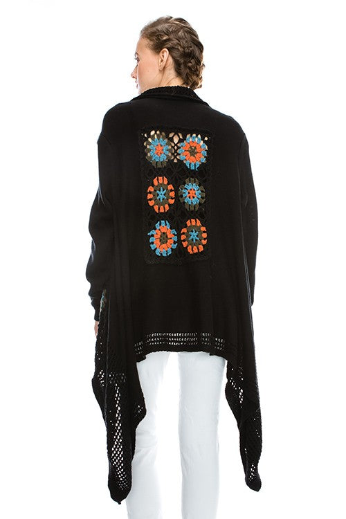 Bohemian Patchwork Sweater - Hippie Vibe Tribe