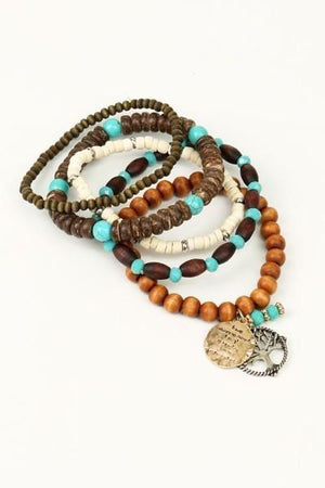 Family Tree 5 Bracelets - Hippie Vibe Tribe