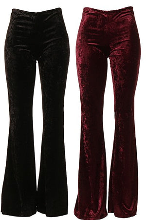 Velvety Bell Bottoms - Hippie Vibe Tribe