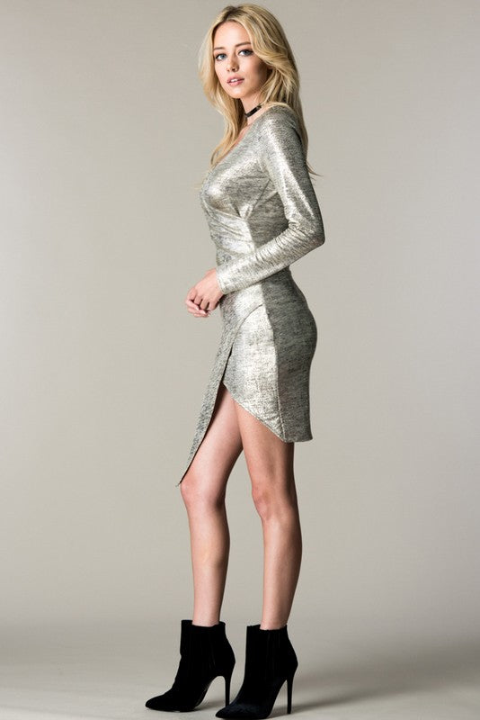 Silver Beauty Party Dress - Hippie Vibe Tribe