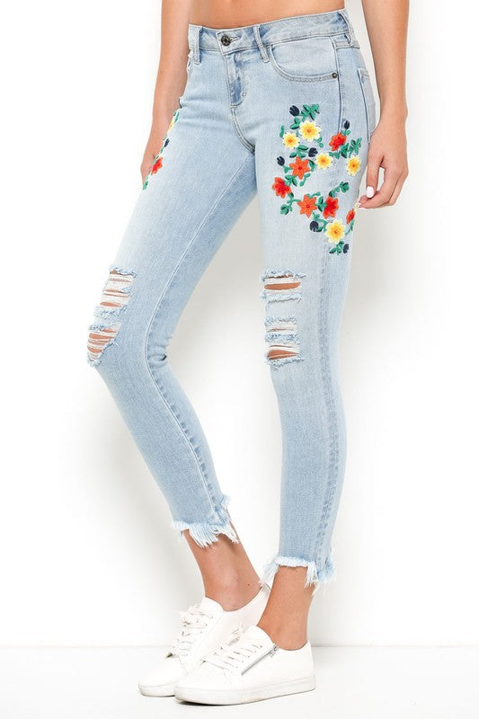 Light Weight Jeans - Hippie Vibe Tribe