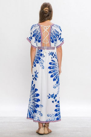Gypsy Floral Lace-Up - Hippie Vibe Tribe