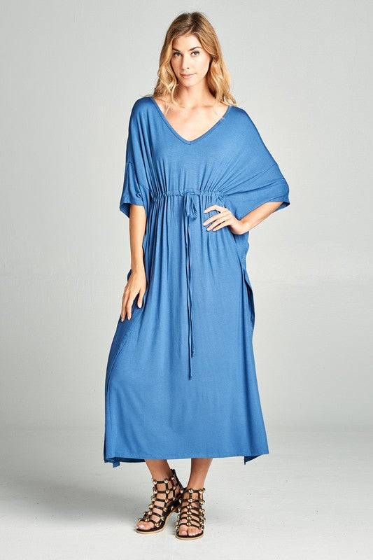 Full Length Poncho Dress - Hippie Vibe Tribe