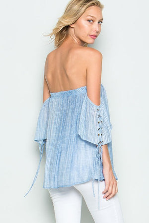 Open Shoulder Top - Hippie Vibe Tribe