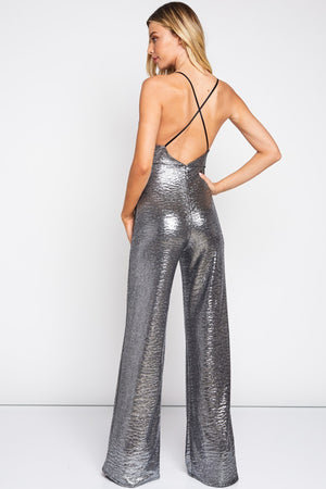 Metallic Jumpsuit - Hippie Vibe Tribe
