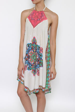 Halter California Dress - Hippie Vibe Tribe