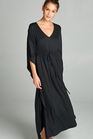 Maxi Dress Poncho Style for those Bohemian Girls - Hippie Vibe Tribe